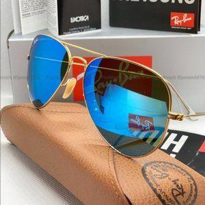 Ray-Ban Aviator RB3026 62MM Unisex Sunglasses